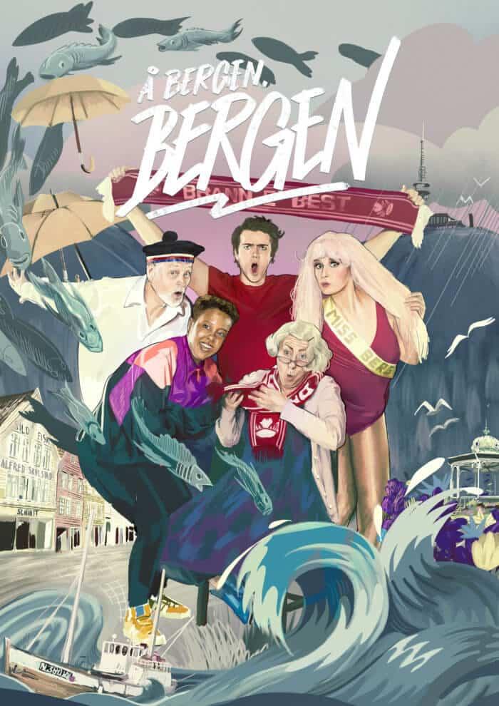 Å Bergen, Bergen