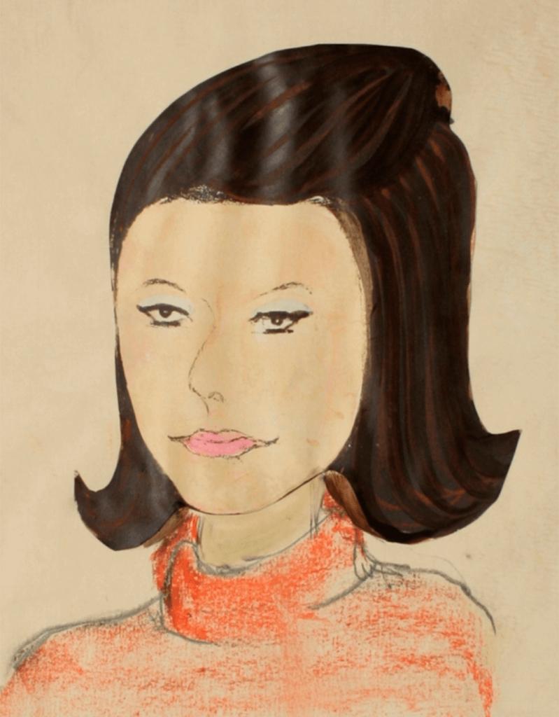 Isdalskvinnen Illustrasjon