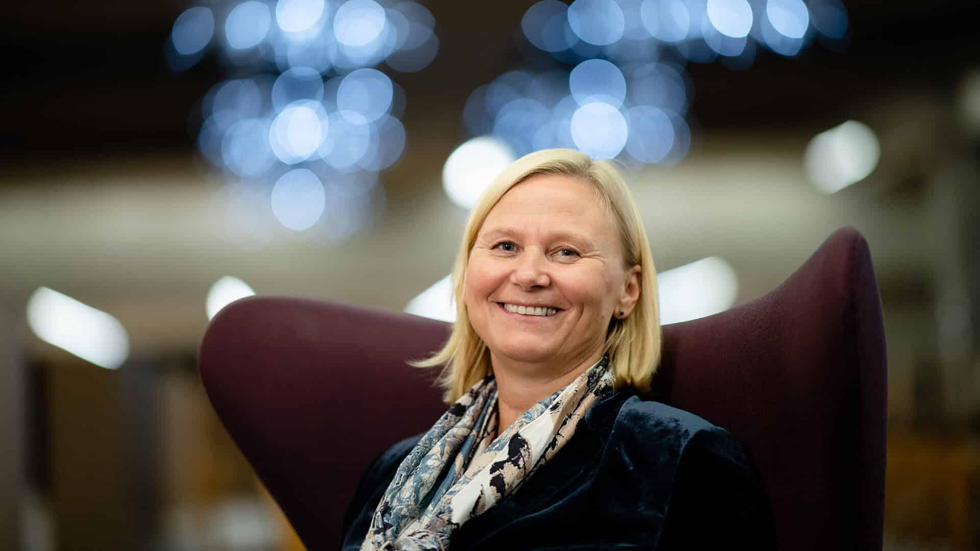 Katrine Trovik er ny styreleder på DNS. Foto: Stig B. Fiksdal
