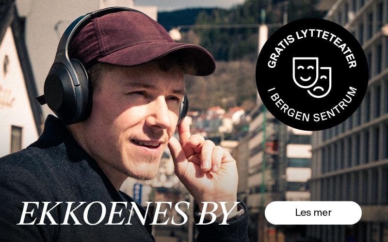 Ekkoenes by - gratis lytteteater i Bergen sommeren 2021