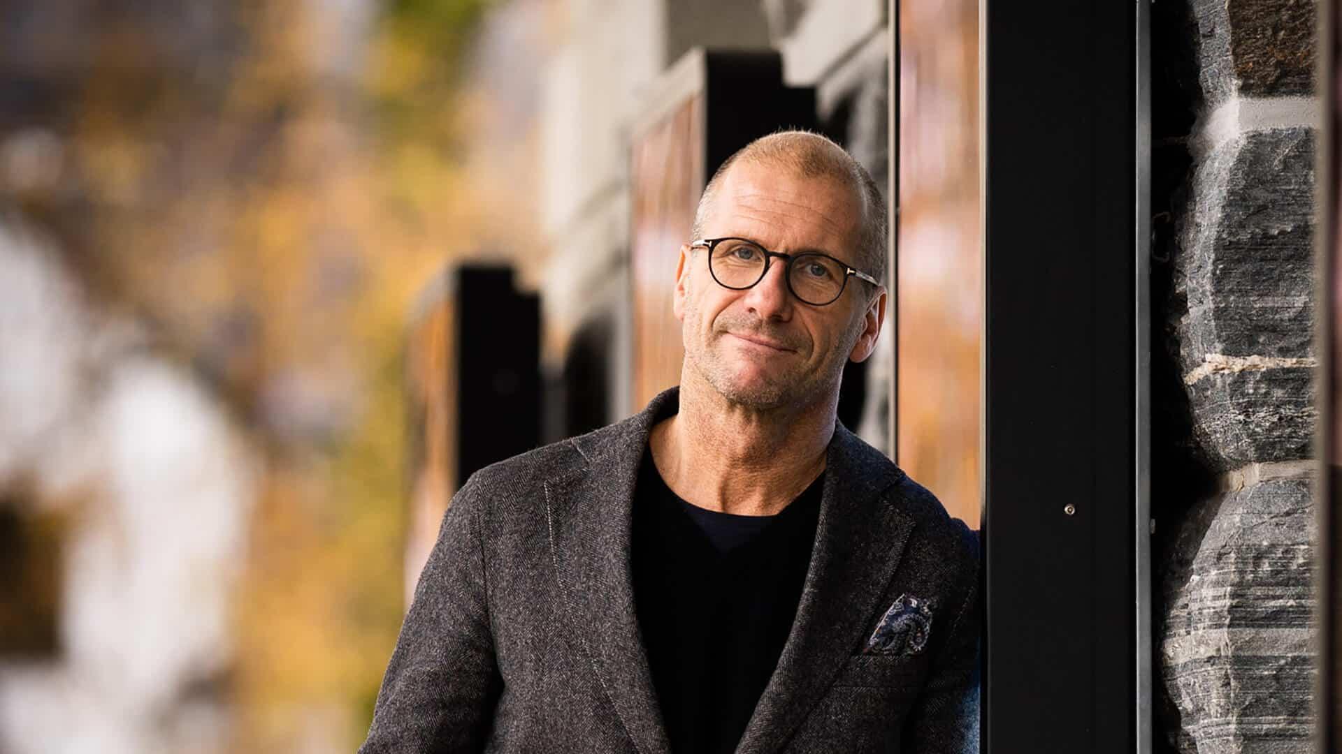 Teatersjef Stefan Larsson